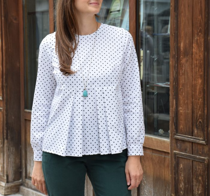 Blouse Rosanna - Anna Rose patterns