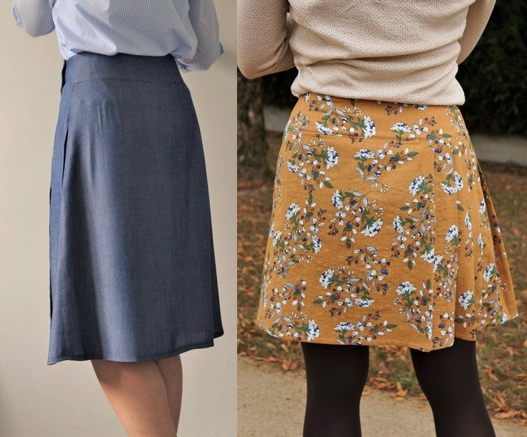 22ec17d1954c7e JUPE OLGGA - Patron de couture - Anna Rose patterns