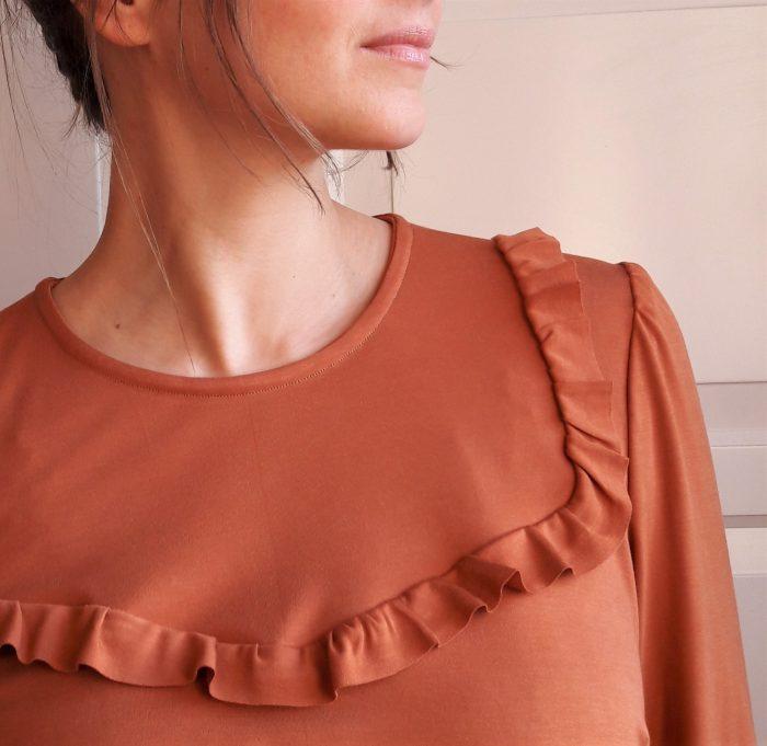 Blouse Ortense - Anna Rose Patterns