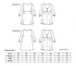 Robe Oxanne _ Anna Rose patterns