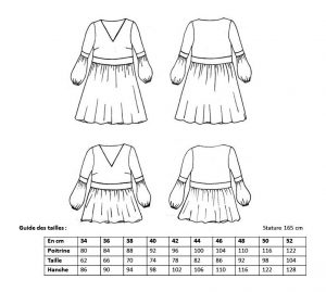 Robe Phoebe - Anna Rose patterns