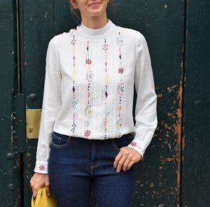 Blouse Rosanna - Anna Rose patterns