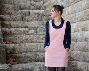 revendeur 3180f 600b6 La robe REYNA -Salopette féminine - Anna Rose patterns