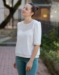 Blouse Ortense - Anna Rose Patterns