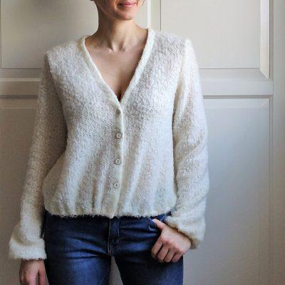 Gilet Sauge - Anna Rose patterns
