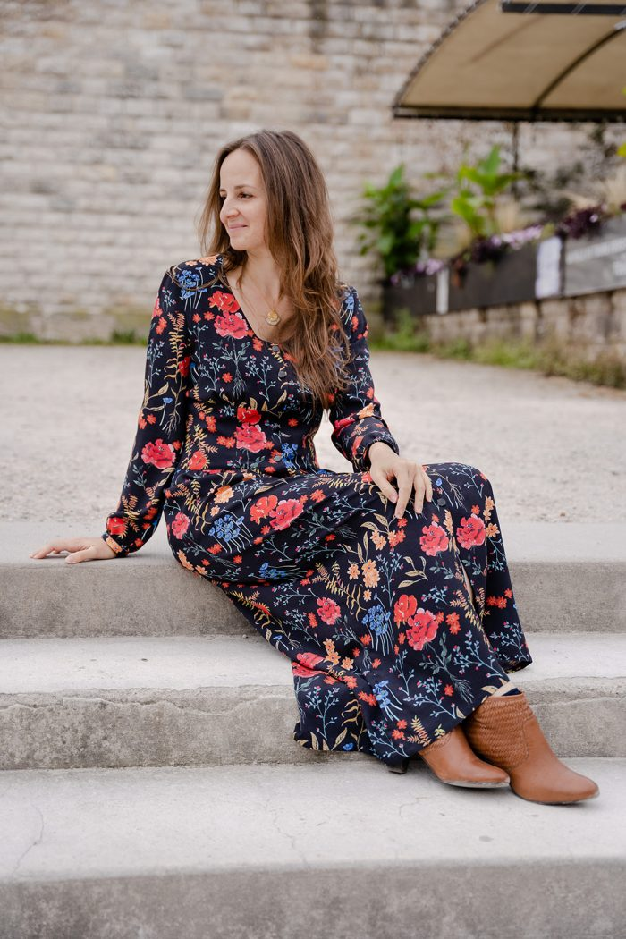Robe Tessa - Anna Rose patterns