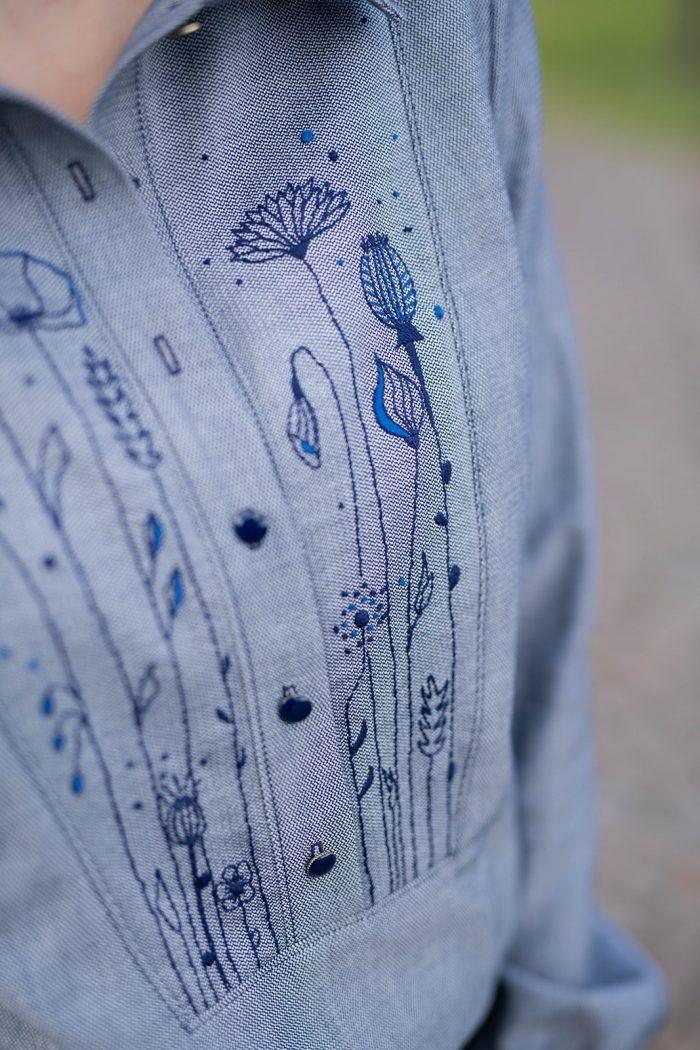 Blouse Annabel - Anna Rose patterns