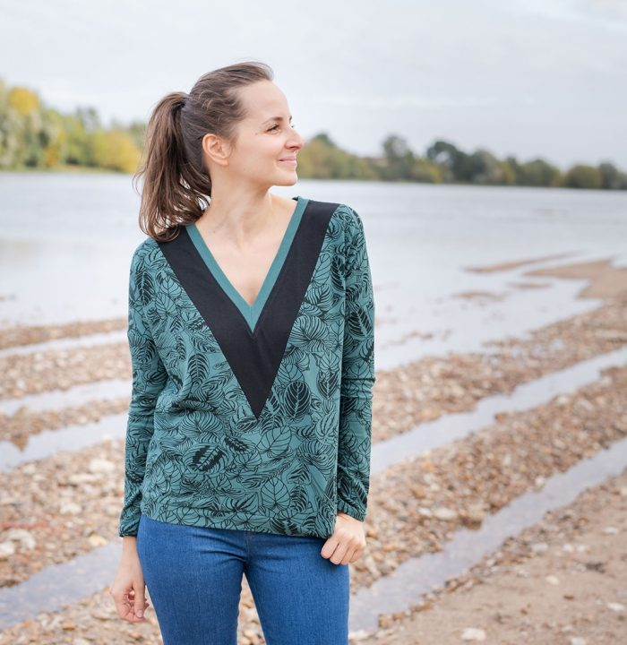 Pull Annatol - Anna Rose patterns