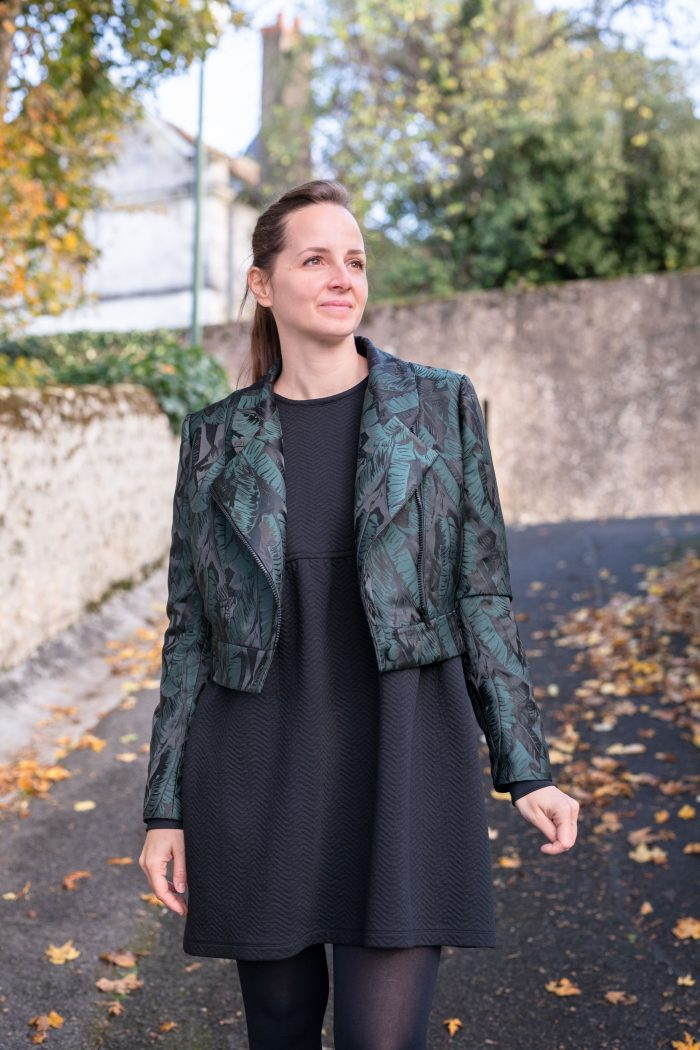 Veste Annagram _ Anna Rose patterns