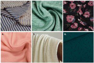 Pull Annatol - Anna Rose patterns - Choix des tissus
