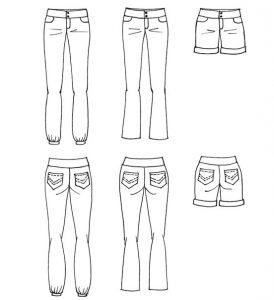 Pantalon Beecool - Anna Rose patterns