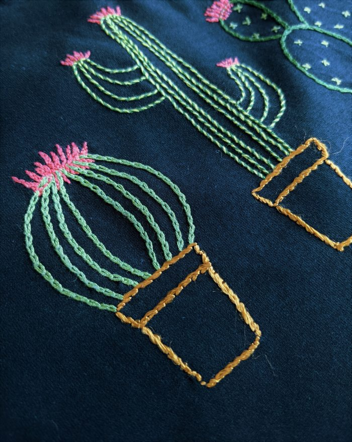 Les cactus- Broderie - Anna Rose patterns