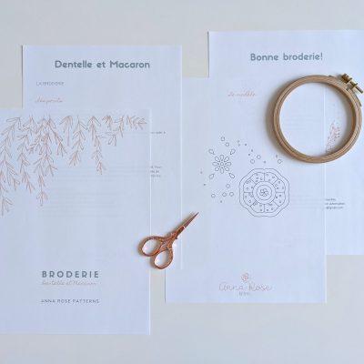 Dentelle et Macaron - Broderie - Anna Rose patterns