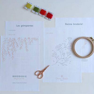 Les grimpantes - Broderie - Anna Rose patterns